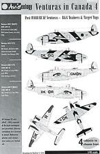 Aviaeology Decals 1/48 LOCKHEED PV-1 VENTURA IN CANADA Post War Veterans