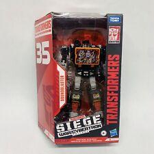 ?? HASBRO Transformers War For Cybertron Soundblaster Black 35th Anniversary