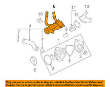 GM OEM-Engine Coolant Thermostat Housing 12597172