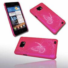 Design 5 Handy Hülle Back Cover für Samsung i9100 Galaxy S2 + Displayschutzfolie