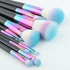 Original New Makeup Brushes Big 12pcs Set Rainbow Spectrum Anmor Siren