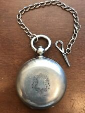 Thick Heavy Silver Case. !High Grade! Henry Beguelin & Son Pocket Watch. Solid