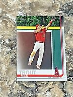 2019 Topps Series 1 Mike Trout #100 Los Angeles Angels MLB Baseball Card