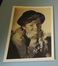 1930's Tommy Kelly Child Movie Star Photo 5x7 Facsimile Autograph Tom Sawyer