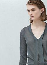 Woman bow collar sweater,jumper size L UK 12 new,mango