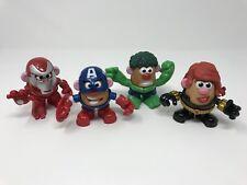 Mr Potato Head Marvel Mixable Mashable Iron Man Hulk Captain America Black Widow