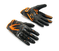 NEW 2017 KTM MENS SPEED GLOVES BLACK / ORANGE LARGE 3PW1617304