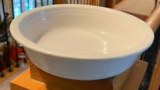 "Homer Laughlin FIESTA WHITE 7"" Coupe Soup Bowl  ONLY ONE!!"