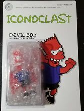Iconoclast DEVIL BOY II Bart Simpson art figure - SOLD OUT LIMITED EDITION RARE