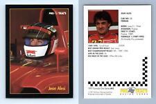 Jean Alesi #65 Formula 1 Pro Trac's 1991 Premier Racing Card