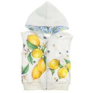 White Girl Lemon Vest 2 - 3 - 4 - 5 - 6 - 7 Years Old