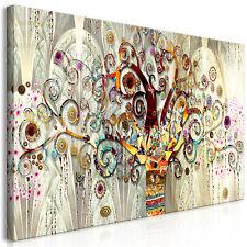BAUM DES LEBENS GUSTAV KLIMT Wandbilder xxl Bilder Vlies Leinwand l-A-0033-b-a