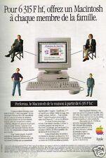 Publicité advertising 1994 Ordinateur Macintosh Apple