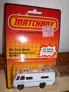 1983 Matchbox NASA Tracking Vehicle #54 Carded