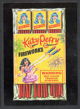 WACKY PACKAGES 50th ANNIV Topps 2017 RED LUDLOW BACK CARD Katy Perry (#17/25)
