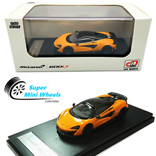 LCD Model 1:64 Mclaren 600LT (Orange) Diecast Model
