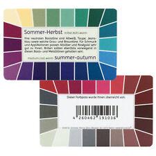 "Farbpass Sommer-Herbst ""Loop"" - Plastikkarte mit 44 Farben"