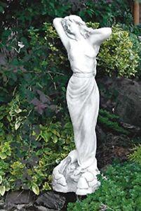 Wasserträgerin (S217) Wasserspiel Frau Gartenfigur Statue Steinguss 69 cm 16 kg