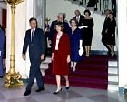 PRESIDENT JOHN F. KENNEDY WITH JACKIE AT THE WHITE HOUSE - 8X10 PHOTO (AA-535)