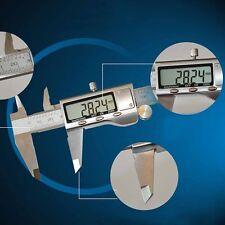 "Electronic LCD Digital Vernier Caliper Gauge Micrometer Stainless Steel 150mm/6"""