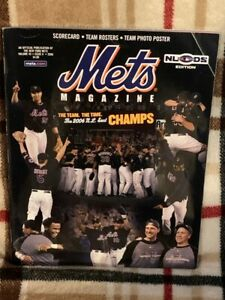 2006 New York Mets Division Series NLDS Magazine Program