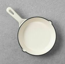 """Hearth & Hand Magnolia Mini Cast Iron Pan Skillet in Cream 6.5"""" SOLD OUT NWT"""