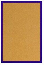 Bi-Office Cork Notice Board 60 X 40 Cm Purple UK POST FREE