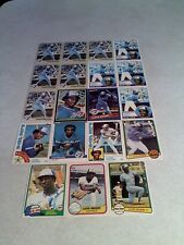 *****Lloyd Moseby*****  Lot of 125+ cards.....69 DIFFERENT