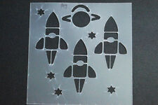 Stencils,Masks,Templates, -200 X 200 SPACE SHIPS Ask for combined post