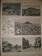Photo article civil unrest Greece views of Athens 1944 ref AP