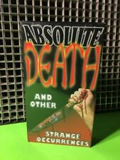 ABSOLUTE DEATH -DMN Entertainment RARE Faces Of D Type Shockumentary SEALED NEW