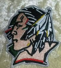 "North Dakota Fighting Sioux 2.5"" Iron On Embroidered Patch ~FREE Ship!"