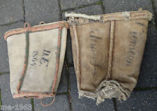 original Feuerwehr 2 150 Jahre alte Feuerlöscheimer Georgenthal und Ichtenhausen
