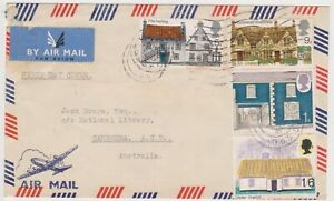 (K233-7) 1970 GB FDC rural architecture used (G)