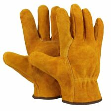 Welder Pp Gloves Cow Leather Fireproof Anti Heat Safety Metal Protective Welding