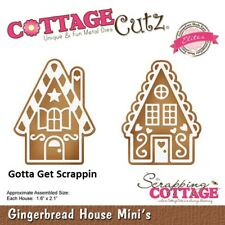 CottageCutz Gingerbread House Mini's Elites Die CCE-514 Christmas 2018 Release