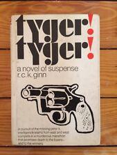 Tyger! Tyger! R.C.K. Ginn 1968 Macmillan 1st Edition EX Condition