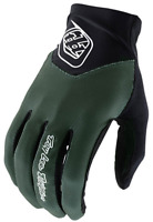 TROY LEE DESIGNS TLD MENS OLIVE GREEN ACE MTB CYCLING GLOVES SOLID size LARGE
