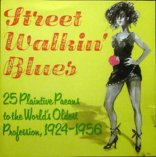 CD STREET WALKIN' BLUES - 25 plaintive paeans to the world's oldest profession