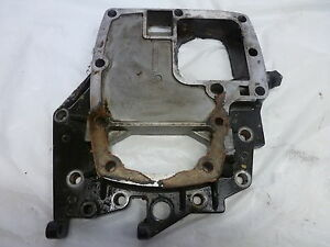 1991 FORCE 1208F91A 120HP EXHAUST SPACER PLATE ADAPTER 819750A1 OUTBOARD MOTOR