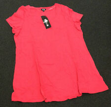 WOMEN'S RED 'EMERGE' T SHIRT. SIZE 10. BNWT (C97)