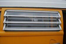 Polished Aluminium VW Westfalia Grill Window Corner Protectors 8pcs C9053