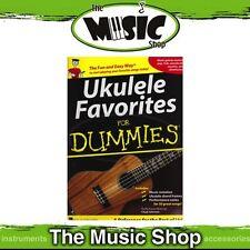 New Ukulele Favourites for Dummies Music Book - Uke Tuition Songbook