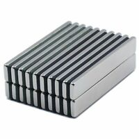10 25 50 N52 Strong Neodymium Magnets Rare Earth Lifting Magnets 60x10x3mm