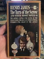 The Turn of the Screw and Other Short Novels by James, Henry Signet 3rd printing