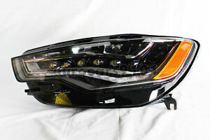 New! Audi A6 Hella Left Headlight 011151451 4G0941773E