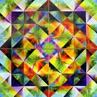 Accent Art Mural Tumbled Marble Backsplash Tile #834
