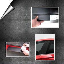 11 cm x 200 cm Auto-Adhésif Voiture Porte Film Noir Chaleur Thermorétractable Protection