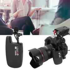LENSGO LWM-308C Lavalier Clip-On Wireless Microphone Video Camera Interview Mic