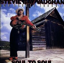 Soul To Soul - Stevie Ray & Double Trouble Vaughan (1999, CD NUOVO) Remastered